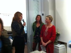 Annika Eklund, Anna Jarnestad Kockum och Camilla Erlandsson.