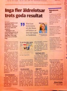 Blekinge läns tidning 9 november 2013.