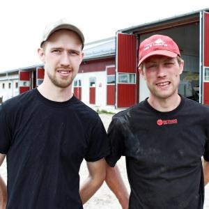 Bröderna Ivar och John Åkesson, Leråkra, pristagare år 2016.